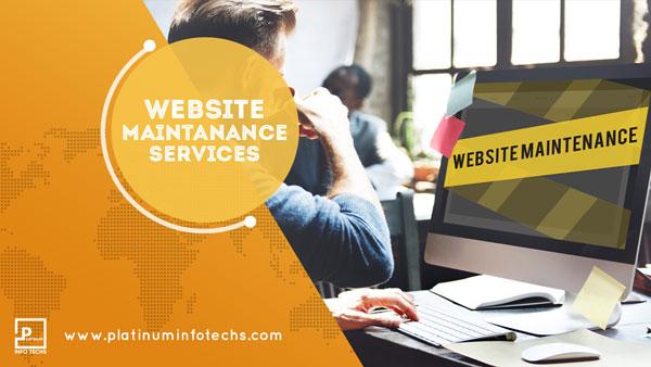 website maintenance services london